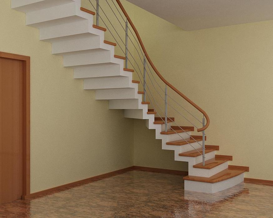 Фото бетонной лестницы 11