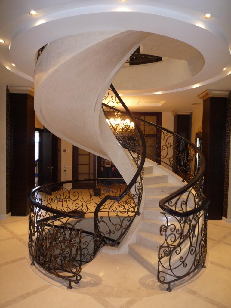 Фото бетонной лестницы 12