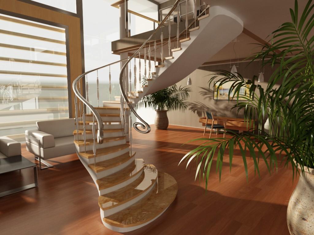 Фото бетонной лестницы 14