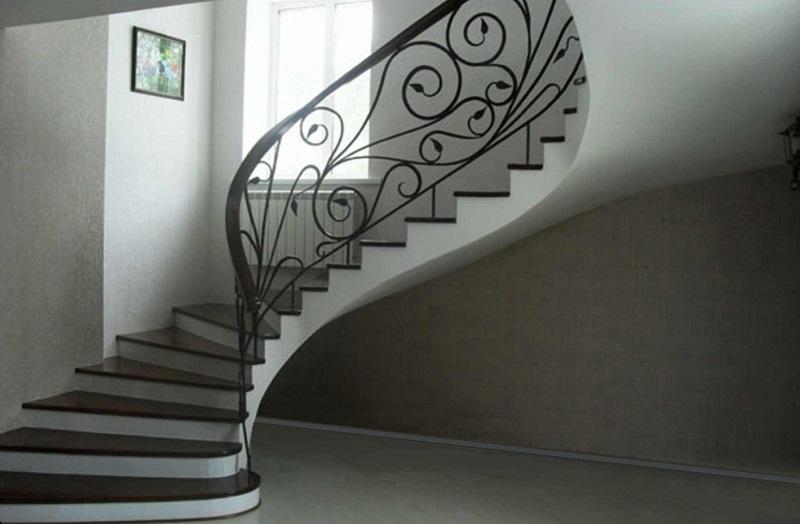 Фото бетонной лестницы 17
