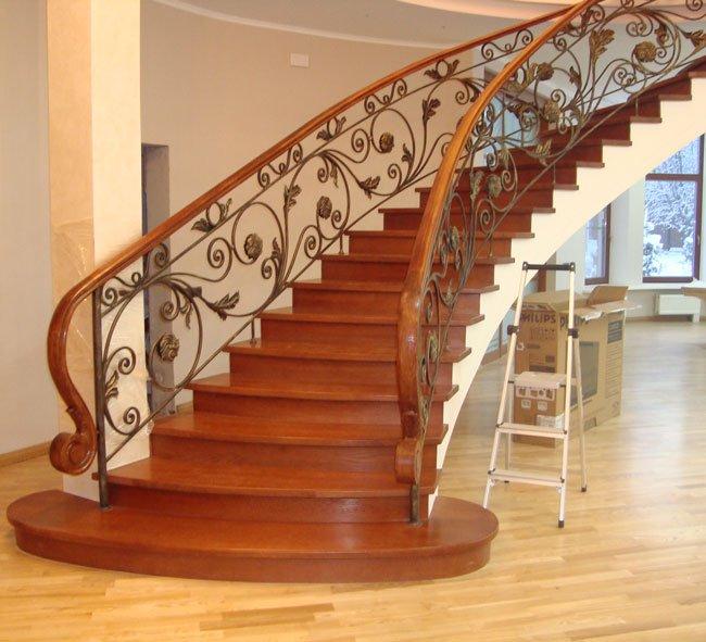 Фото бетонной лестницы 6