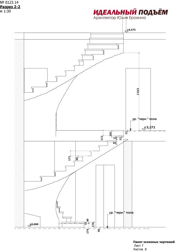 Проектирование бетонных лесниц