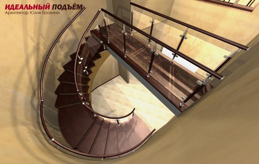 проект лестницы металлокаркас