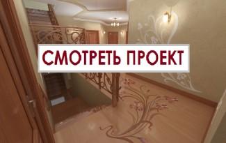 лестница в интерьере холл