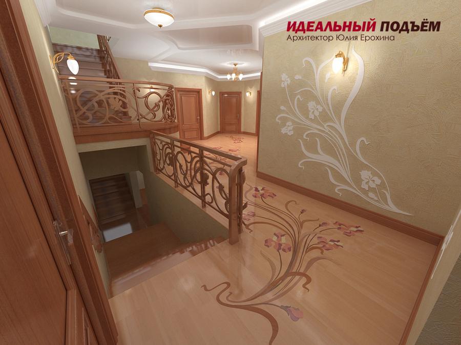 лестница дизайн проект